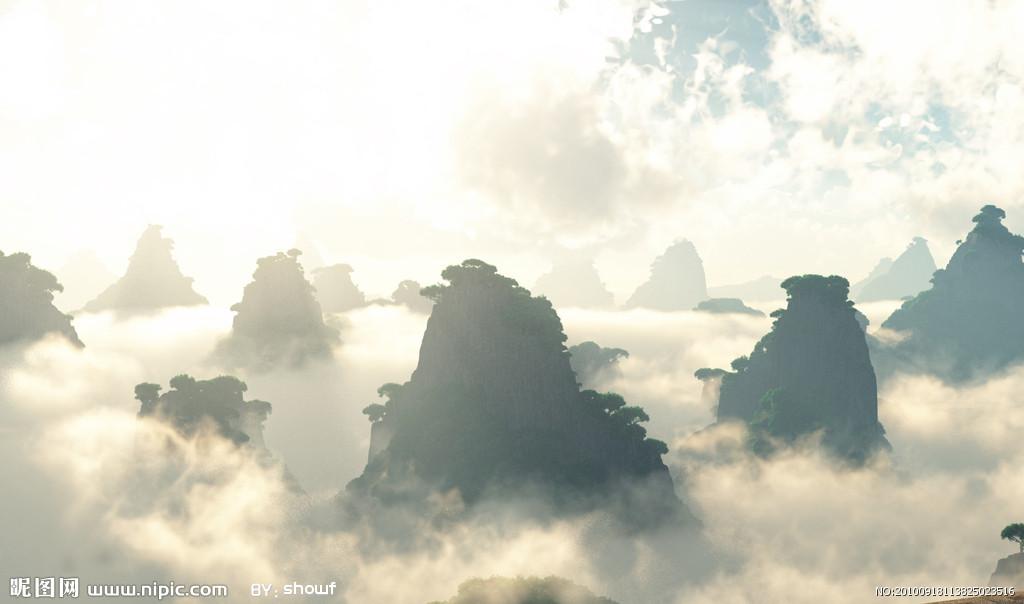 云山云海风景图片